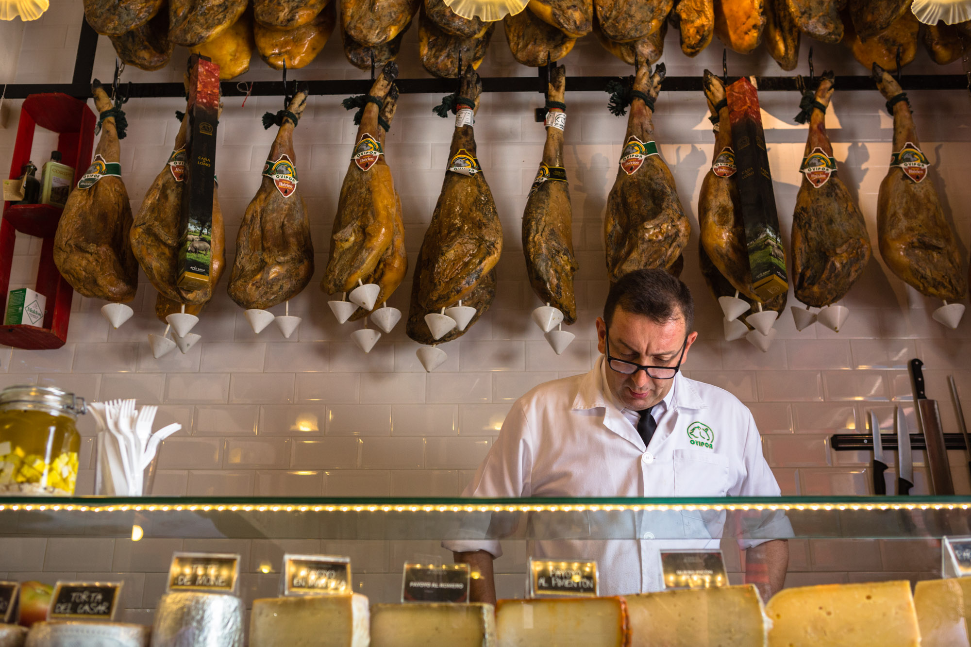 Spanish Jamón Butcher