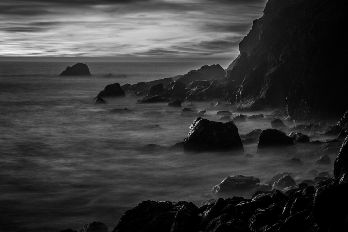 Big Sur Rocky Coast