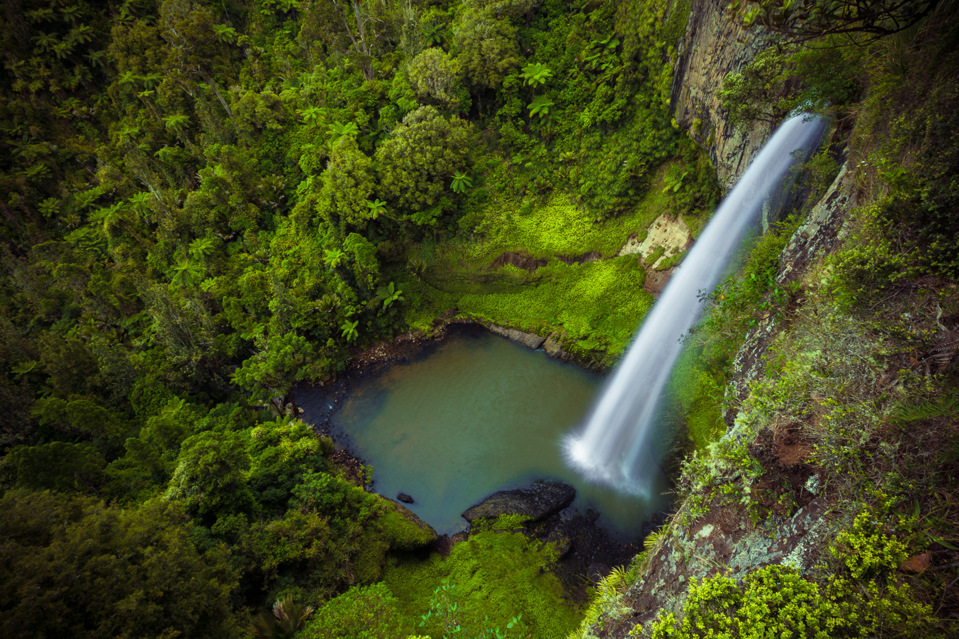 Just another one of the hundreds of incredible waterfalls around New Zealand