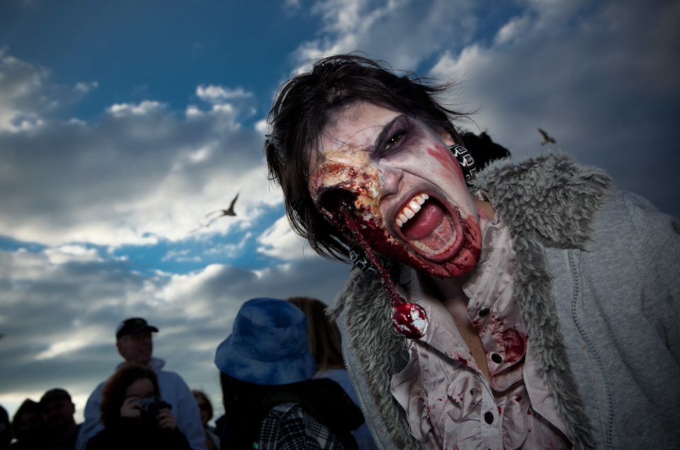 Asbury Park Zombies Support Occupy Wall Street