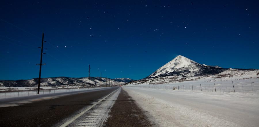 Drive-By America: Day 9 - Goodbye Denver, Hello Snow